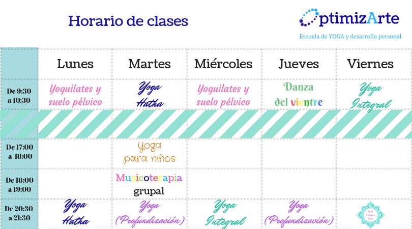 Horario de clases (3)