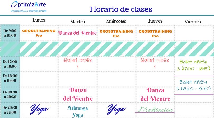 Horario de clases (2)