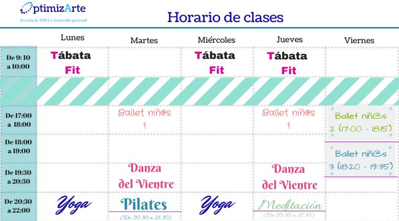 Horario de clases (8)